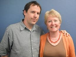 Mark Coker with Alison Baverstock (who introduced the lecture): (writersandartists.co.uk)