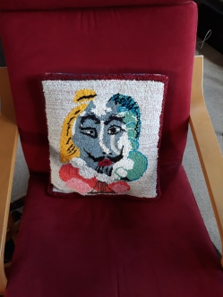 Picasso cushion cover (Shakespeare)